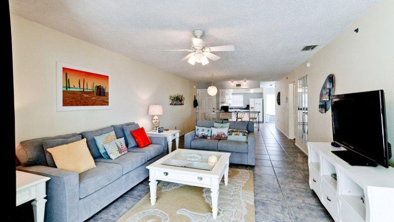 Living Room - Flat Screen TV