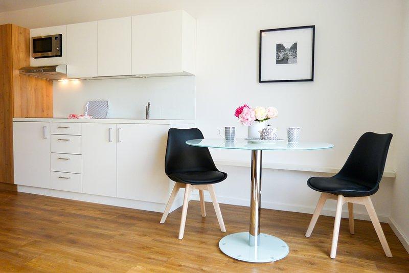Wohnen auf Zeit mit Bestklassifizerung durch DTV (Deutscher Tourismusverband), holiday rental in Friesenhausen