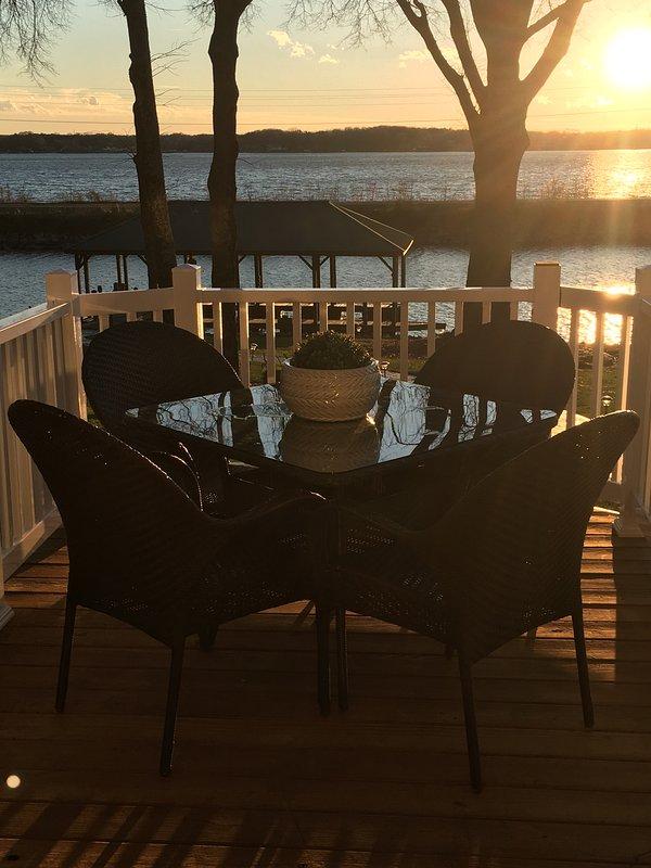 New Lake Norman Sunset Retreat On Kiser Island With