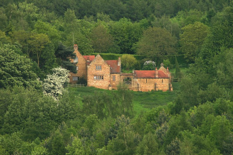 Heath Farm Holiday cottages nestled in 70 acres of private woodland and meadows.