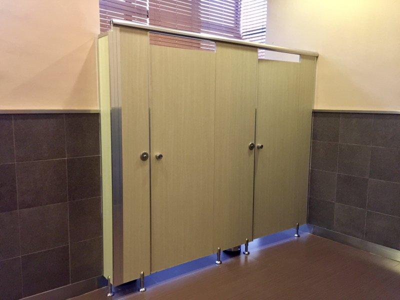 stands de toilettes