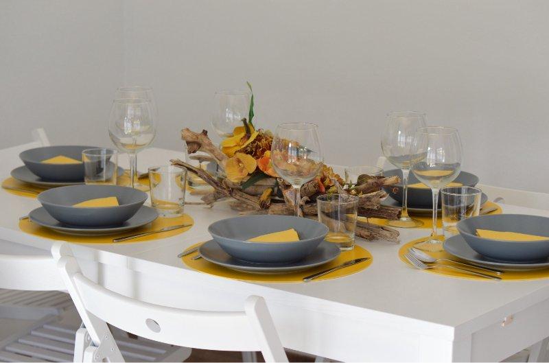 Elegante tavolo