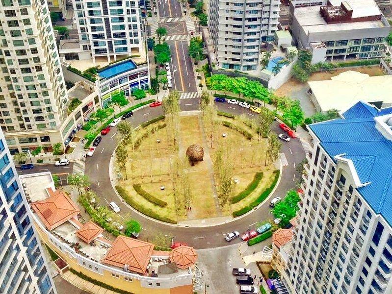Vue de Burgos Cercle de dessus