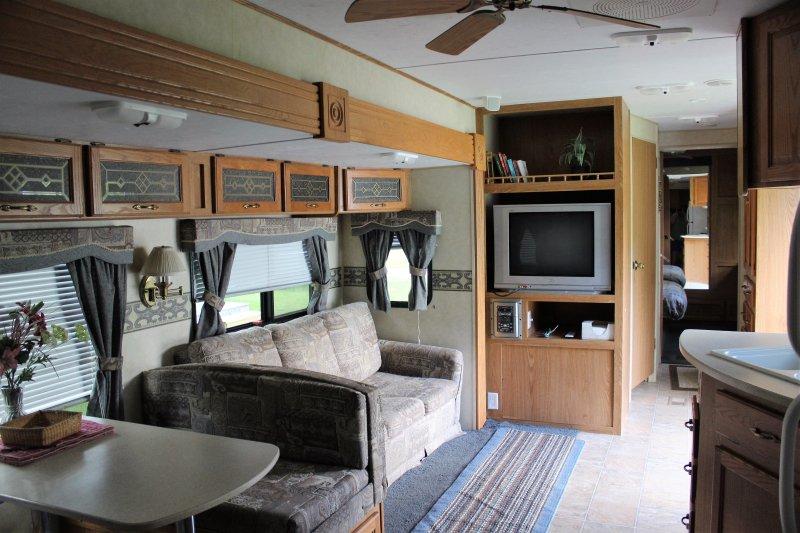 RV/Camper rental Randolph VT area, holiday rental in Braintree