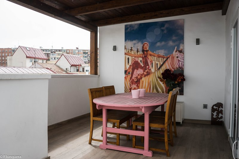 Ático 'Madrid Rio', vacation rental in Leganes