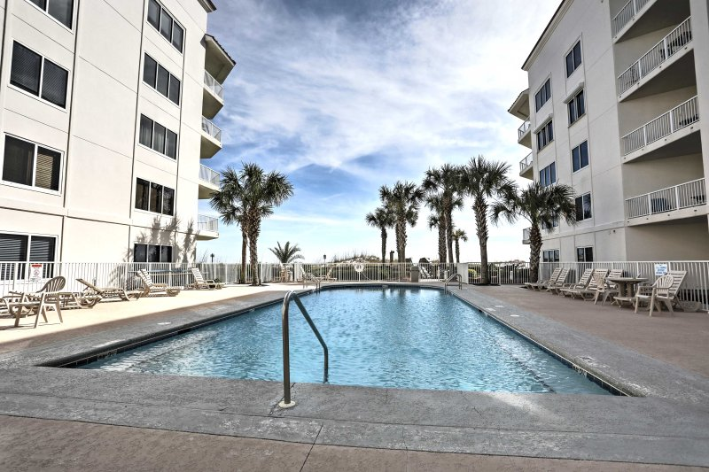 Have a beach getaway when you book this Orange Beach vacation rental condo!