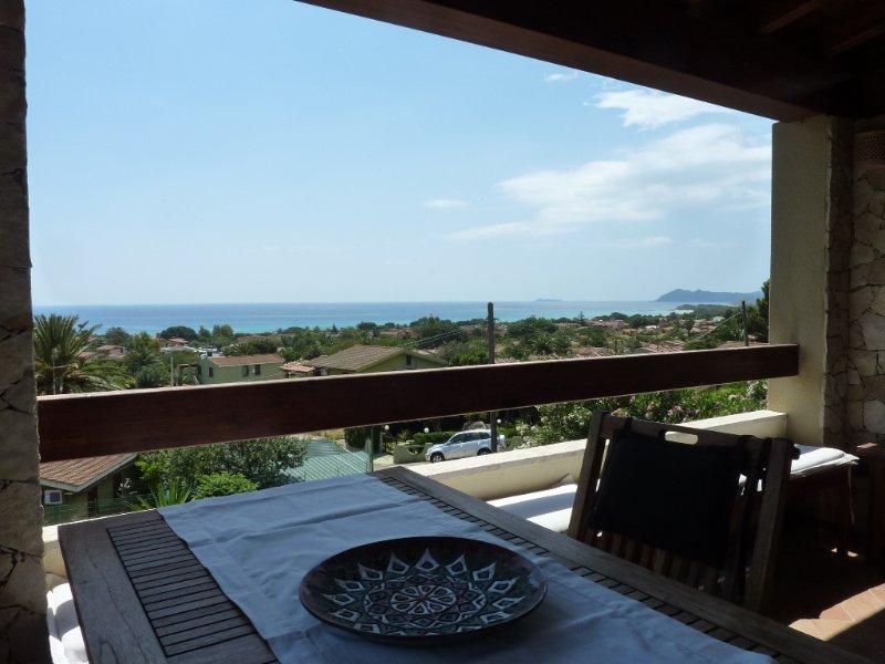 Doria trilocale vista mare, vacation rental in Costa Rei