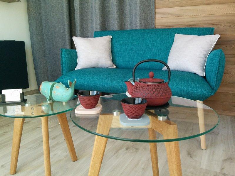 L'espace détente « Ô bien-être massage » pour passer un moment de relaxation et de bien-être !
