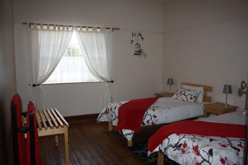 Segunda habitación: 2 camas individuales