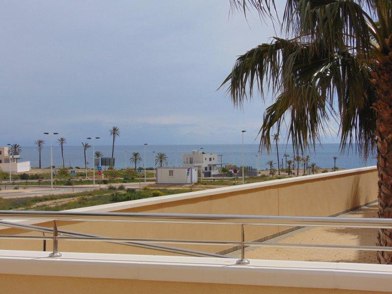Una de las muchas vistas al mar desde el apartamento