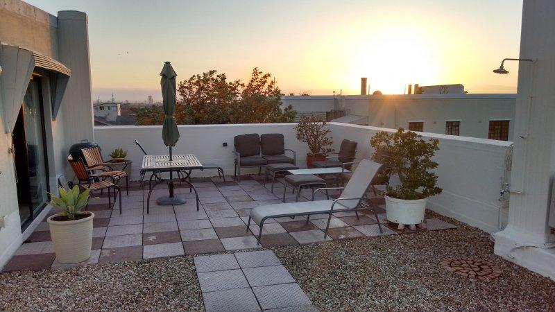 200sqm roof terrace