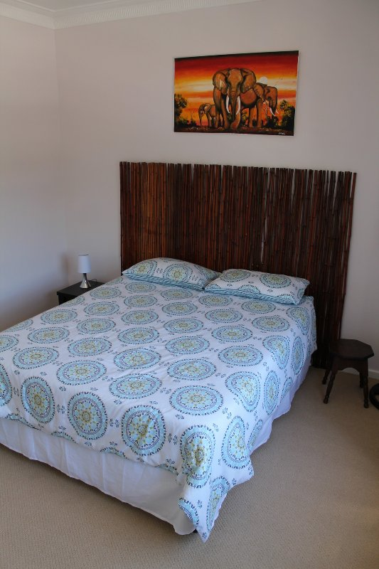 2nd bedroom air-conditioned,