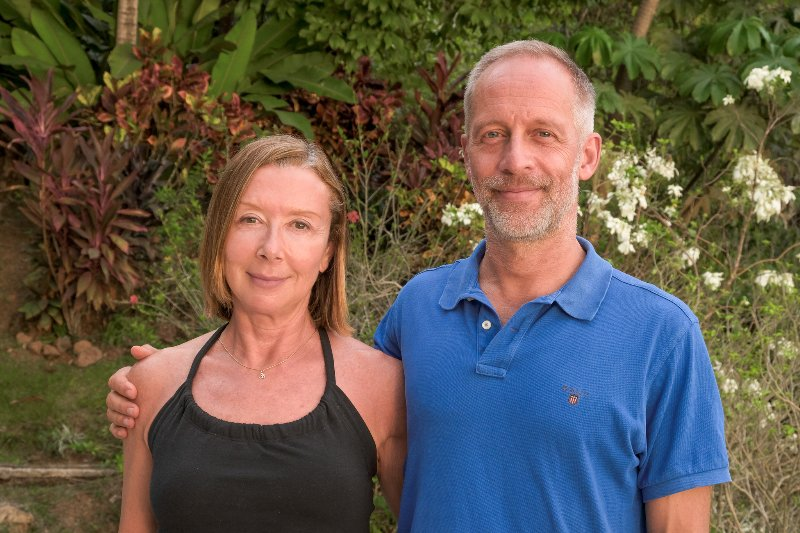 Regina y Nils de Estocolmo, Suecia, son los orgullosos propietarios de Villa Tres Ninas partir de marzo de 2017.