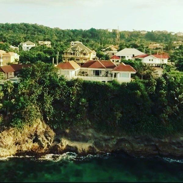 Seaview shot of Villa Bennmaya