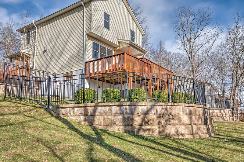 Book this vacation rental house for the ultimate East Stroudsburg getaway!