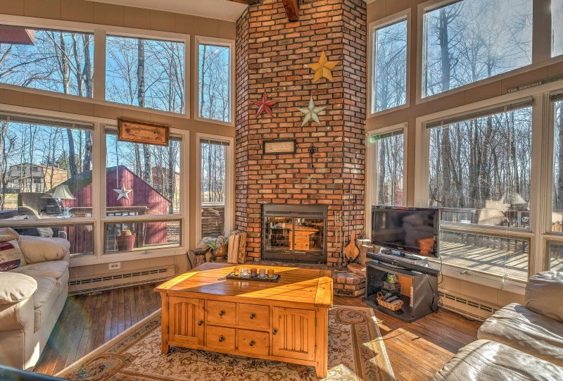Floor-to-ceiling windows will provide you with breathtaking views!