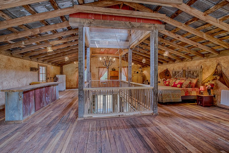 Such elegance inside a converted barn