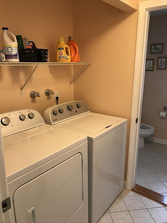 Laundry and full bath