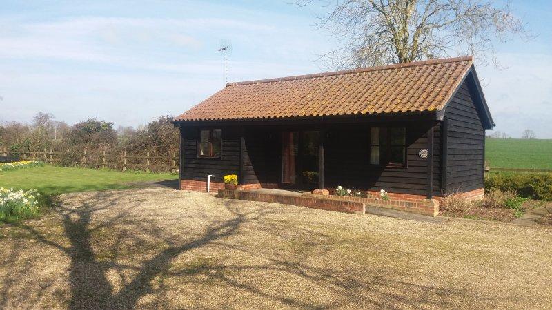 Fushia chalet, holiday rental in Brandeston