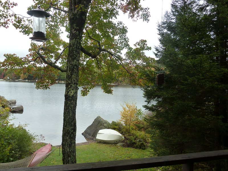 Beach and lake from front porch