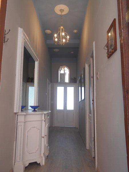 corridor hallway rooms