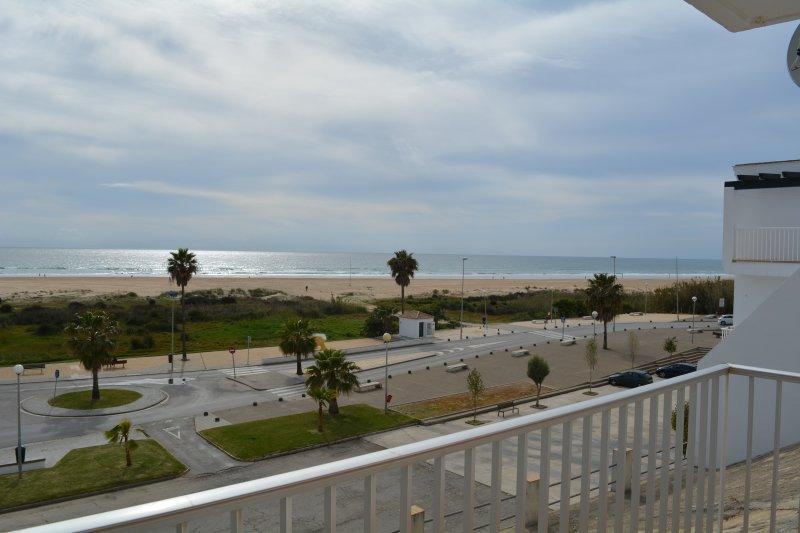 Fantastic views of the beach