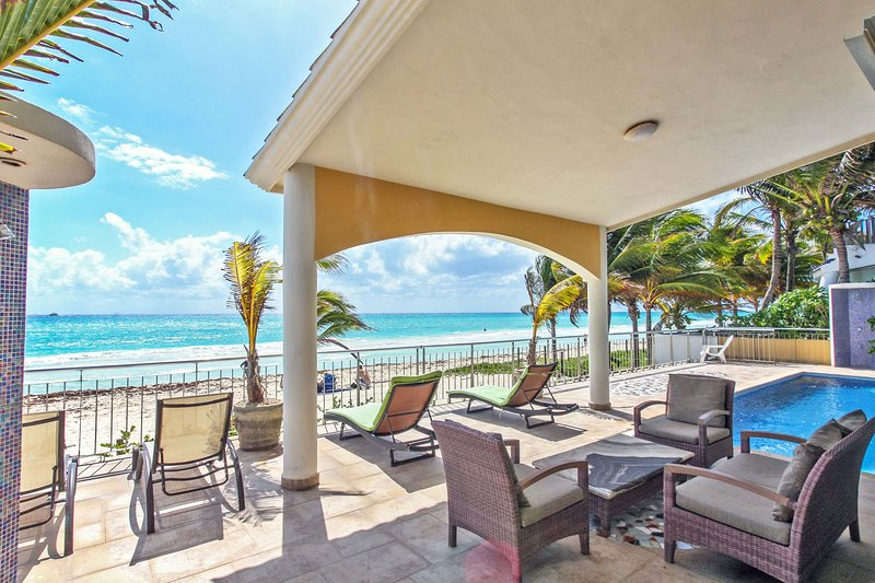 Your private beach front terrace