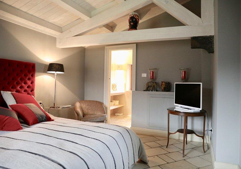 dormitorios dobles con baño privado en suite