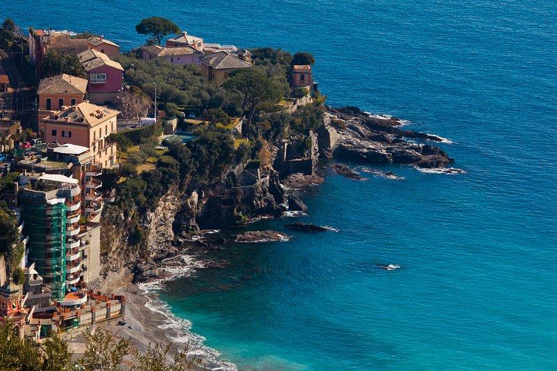 la villa junto al mar
