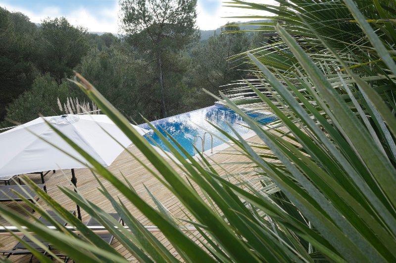 Ver a sua piscina paisagem e sunterrace