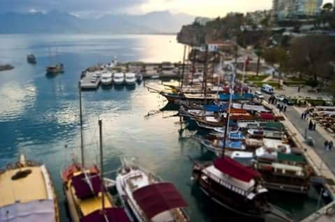 kaleiçi marina (harbour)