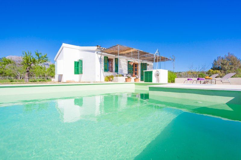 SES PLANES - ADULTS ONLY (CA NA FAUSTINA) - Villa for 2 people in Selva, alquiler vacacional en Moscari