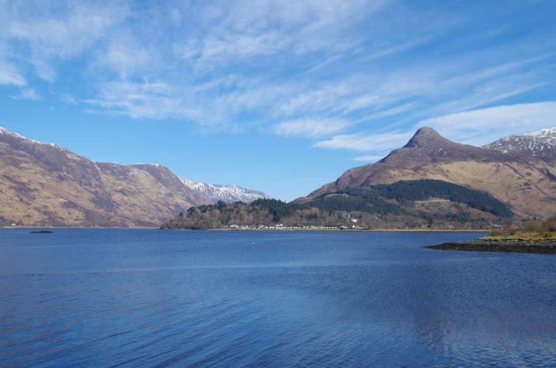 More breathtaking views from the banks of Loch Leven down to the Pap of Glencoe and beyond