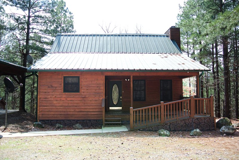 Front view of the cabin