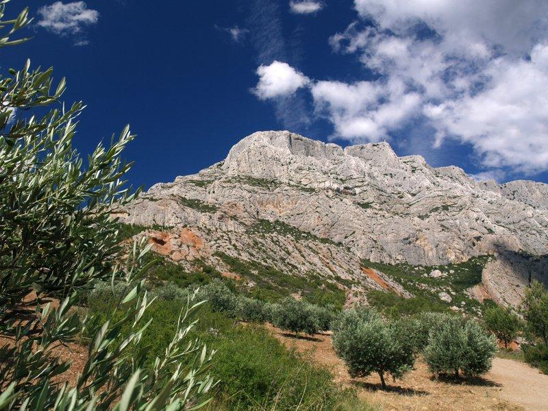 Foto turística - Montagne Sainte Victoire