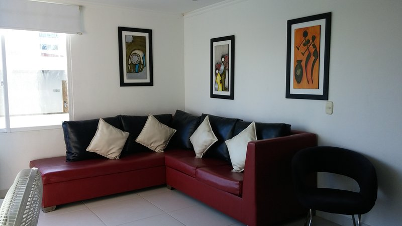 1BR Apartment by the sea in Cartagena, Colombia, location de vacances à Bocachica