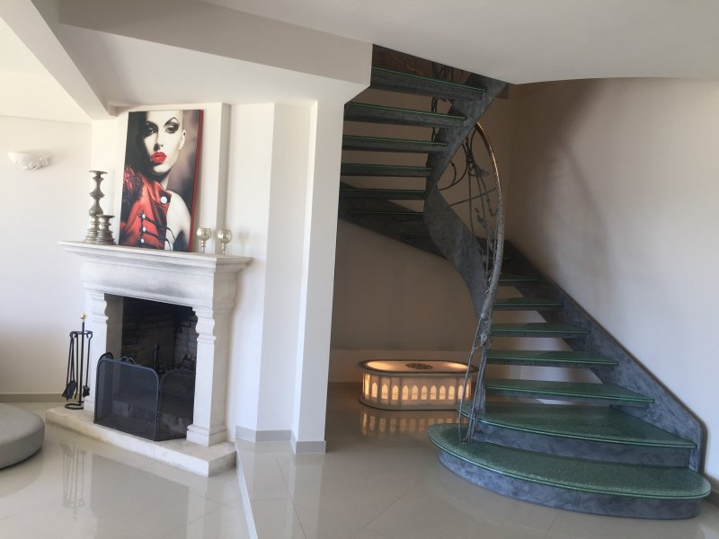 Staircase to the First Floor