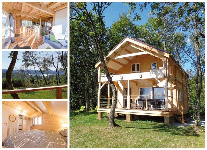 Puy Montaly, maison / chalet 'le Pariou' calme en pleine nature, étang, pêche, vacation rental in Champagnat