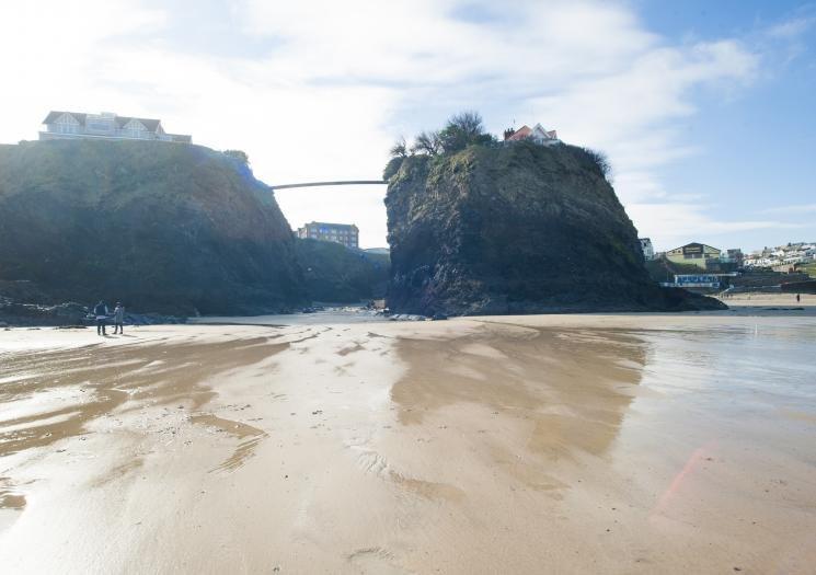 L'île, Towan Beach, Newquay