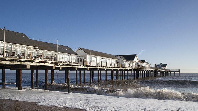 Southwold Pier (15 minutos de carro)