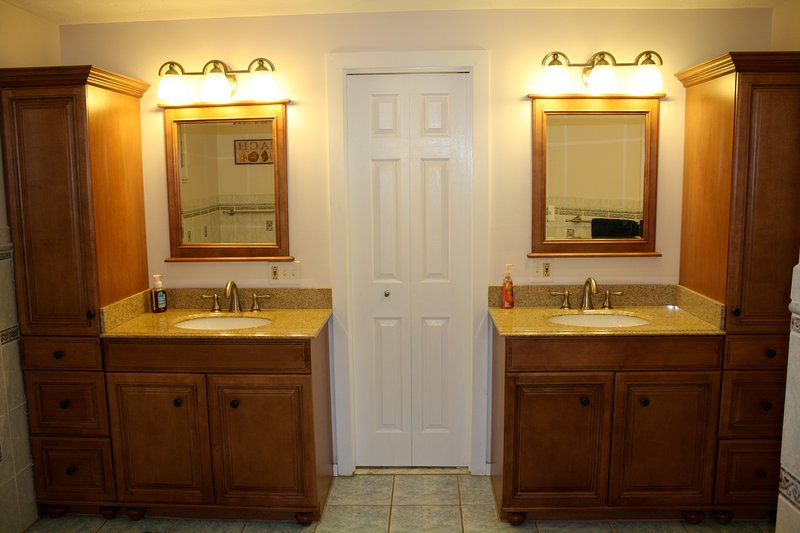 Master Bath with His and Hers Sinks