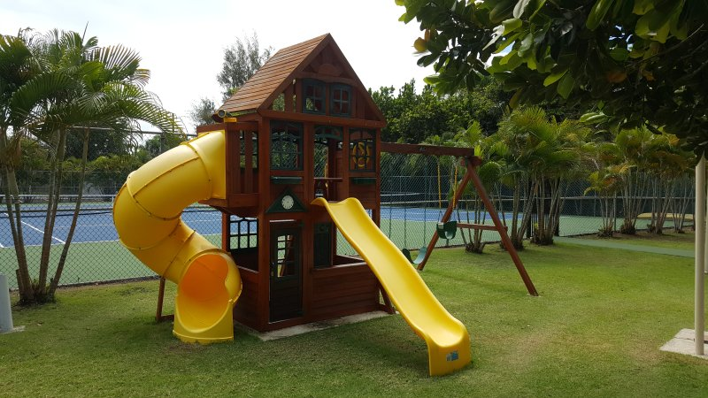 New children's playground area.