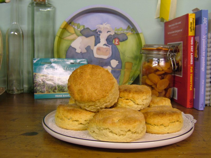 Home baking ,Cheese scones .Harry s Home made Marmalade