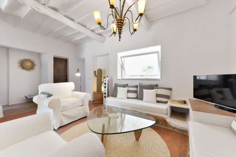 Can Chapati, ibizan house for 6+2 with pool., holiday rental in Sant Josep de Sa Talaia
