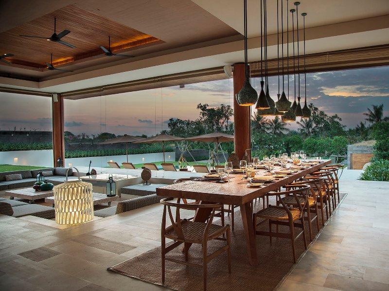 L'Iman Villa - Cadre dîner