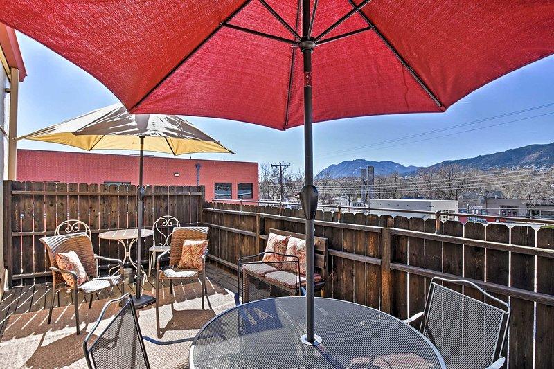 Évadez-vous lorsque vous séjournez dans cette Colorado Springs de 2 chambres!