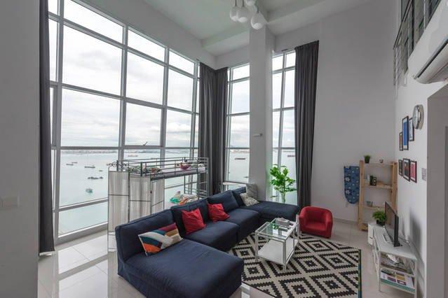 Superb Seaview 2brDuplex Georgetown, vakantiewoning in Pulau Penang