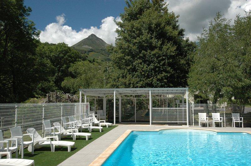 Duplex avec piscine dans Grange auvergnate rénovée : pour des vacances au vert !, holiday rental in Lascelle