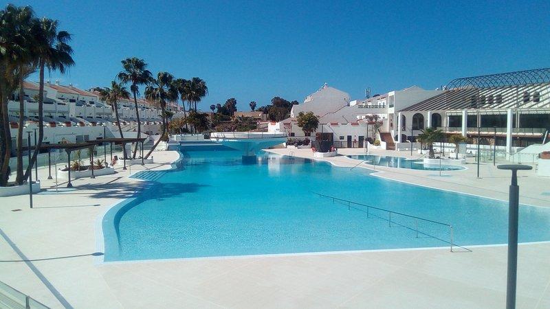 8) Appart. in miglior posizione nel residence vista piscine e volcano-WIFI, alquiler de vacaciones en Costa del Silencio