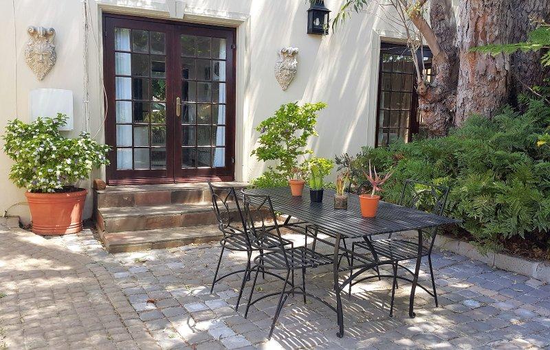 Aloe Cottage Veranda